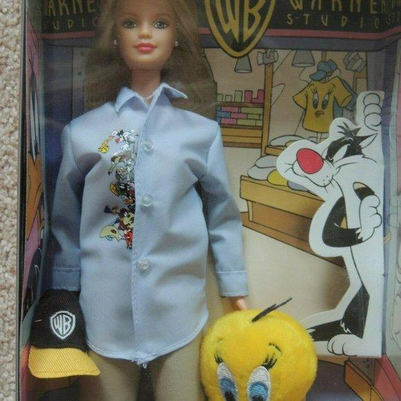 New Barbie Loves Tweety Warner Bros. 1998 Vintage